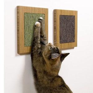 когтеточка для кота настенная